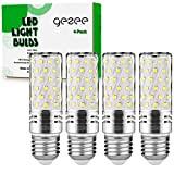 Gezee LED Argento Mais lampadine E27 15W Small Edison Screw Equivalente a 120W 1500Lm Non Dimmerabile 6000K Bianco Freddo Lampadine ...