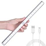 [Installabile in 2 Modi] LOFTer Luce Armadio Ricaricabile a 20 LED con Sensore Luce e Movimento, Luce Wireless con 2 ...