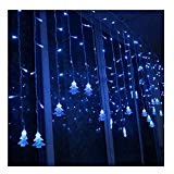 K-Bright 3.5m/138in 96led Blu Catene luci Decorations Light per l'albero di Natale, luci colorate, luci natalizie da Esterno Giardino Party ...