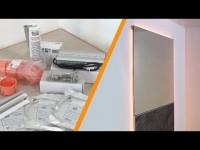 Installare uno specchio a parete con illuminazione a LED
