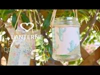 Come realizzare delle lanterne patchwork con barattoli di vetro