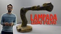 LAMPADA IN LEGNO DI ULIVO | FAI DA TE